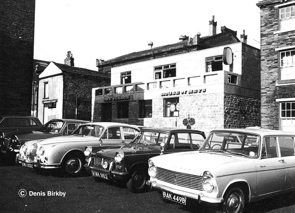 Front view of the new Fleece Inn, Stone Street, Bradford. Picture copyright Denis Birkby.
